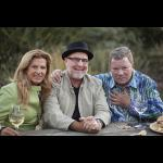 Elizabeth Shatner, Dale Evers and William Shatner at Sculpterra Winery & Sculpture Garden